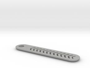 GMX Long Clicker Plate w/cutouts in Aluminum