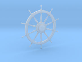 1/48 Ship's Wheel 38mm diameter in Smooth Fine Detail Plastic