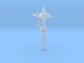 Cosmic Mace (3mm, 4mm, 5mm) in Smooth Fine Detail Plastic: Medium