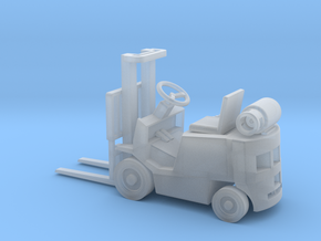 Early LPG Forklift (HO - 1:87) 1X in Smooth Fine Detail Plastic