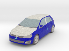 1 Wrapped car (N 1:160) in Natural Full Color Sandstone