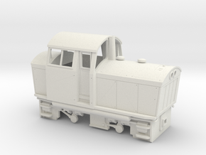 Conway Castle 7mm Scale in White Natural Versatile Plastic