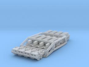 Patriot Missile Convoy in Smoothest Fine Detail Plastic: 1:700