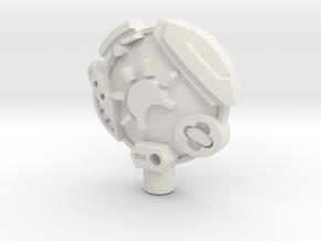 Earth 5mm Cyberkey in White Natural Versatile Plastic