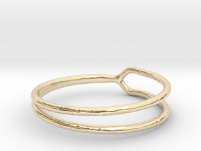 Ring 06 in 14k Gold Plated Brass