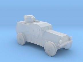 AV843 Armored Car in Smooth Fine Detail Plastic