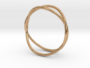 Ring 02 in Polished Bronze