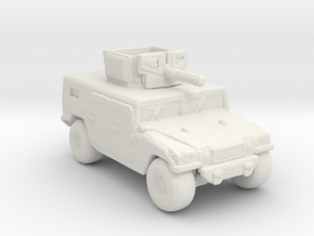 M1116 220 scale in White Natural Versatile Plastic