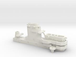 1/700 USS Kentucky BBAA-66 Bridge (G) in White Natural Versatile Plastic