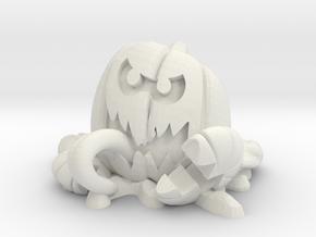 Splat-O-Lantern in White Natural Versatile Plastic: Medium