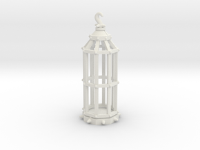 28mm Scale Gibbet (type 1) in White Natural Versatile Plastic