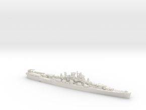 USN CL106 Fargo [1946] in White Natural Versatile Plastic: 1:1800