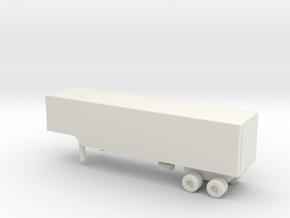 1/200 Scale M971 Trailer in White Natural Versatile Plastic
