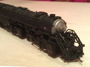 Rowa Y6B 2-8-8-2 Pilot With N Scale MT Coupling in Smooth Fine Detail Plastic
