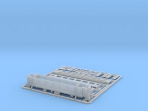 RhB B 541 01 Passenger Wagon, EW III Refit 2010 in Smooth Fine Detail Plastic