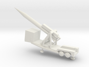 1/200 Scale M504 Missile Launcher And Sergeant Mis in White Natural Versatile Plastic