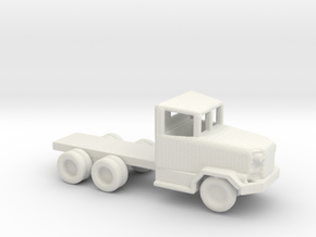 1/200 Scale M44 Truck Chassis in White Natural Versatile Plastic