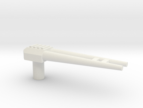 Project DoubleSpy Decepti-gun in White Natural Versatile Plastic