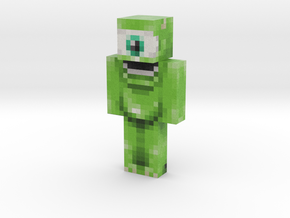 Mike | Minecraft toy in Natural Full Color Sandstone