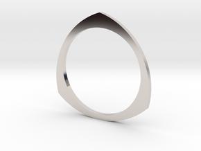 Reuleaux 16.00mm in Platinum