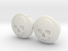 skullskull in White Natural Versatile Plastic
