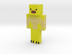 Pete | Minecraft toy in Natural Full Color Sandstone