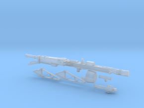 Smartgun in 1:6 scale in Smooth Fine Detail Plastic