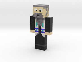 Rabbi_Super_Doper | Minecraft toy in Natural Full Color Sandstone