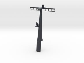 1/96 scale Hamilton Mast Rear - Pre-Framm in Black PA12
