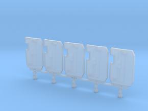 Primaris Boarding Shield V1 x5 in Smoothest Fine Detail Plastic