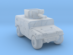 M1116 285 scale in Smooth Fine Detail Plastic