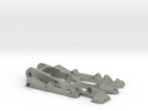 "888sr - 1/24 racer chassis 4.0"" wb in Gray PA12"