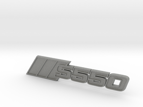 Ford Mustang S550 Tri-Bar Fender Badge in Gray PA12