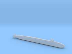 SSBN-742 WYOMING 2400 FH in Smooth Fine Detail Plastic