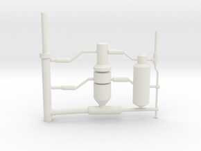 pipe works in White Natural Versatile Plastic
