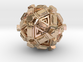Amaze-ball in 14k Rose Gold