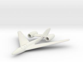 (1:144) Focke-Wulf Lorin Bomber in White Natural Versatile Plastic