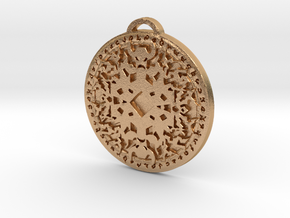 Shaman Class Medallion in Natural Bronze