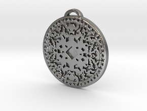 Shaman Class Medallion in Natural Silver
