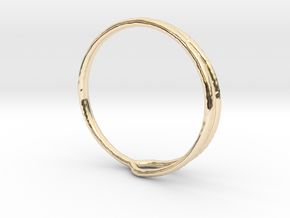 Ring 04 in 14k Gold Plated Brass