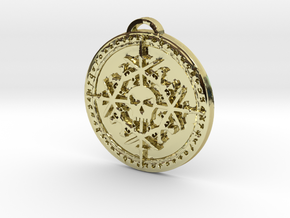 Rogue Class Medallion in 18K Yellow Gold