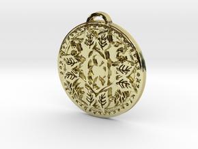 Druid Class Medallion in 18K Yellow Gold