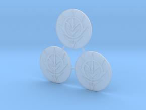 Zeon Repulsor Door Icons in Smooth Fine Detail Plastic