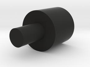 1-Crossguard-2.0 (Korbanth) Part-9/2 in Black Natural Versatile Plastic