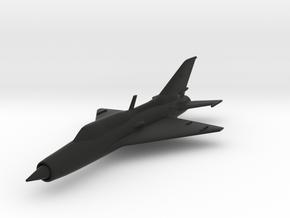 Mikoyan-Gurevich MiG-21 in Black Natural Versatile Plastic