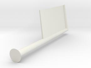 banner pole in White Natural Versatile Plastic