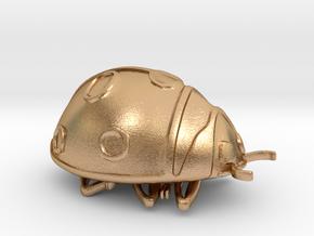 ladybug in Natural Bronze