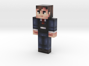 lmcalderon | Minecraft toy in Natural Full Color Sandstone