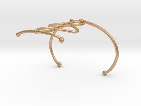 Bracelet7.2 in Natural Bronze