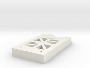 CM-3-R in White Natural Versatile Plastic